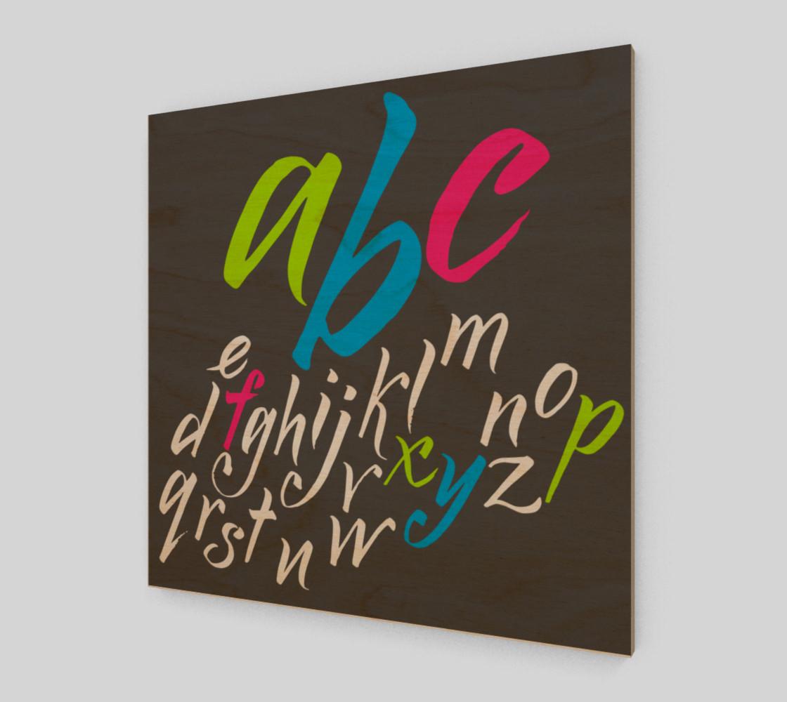 alphabet preview #1