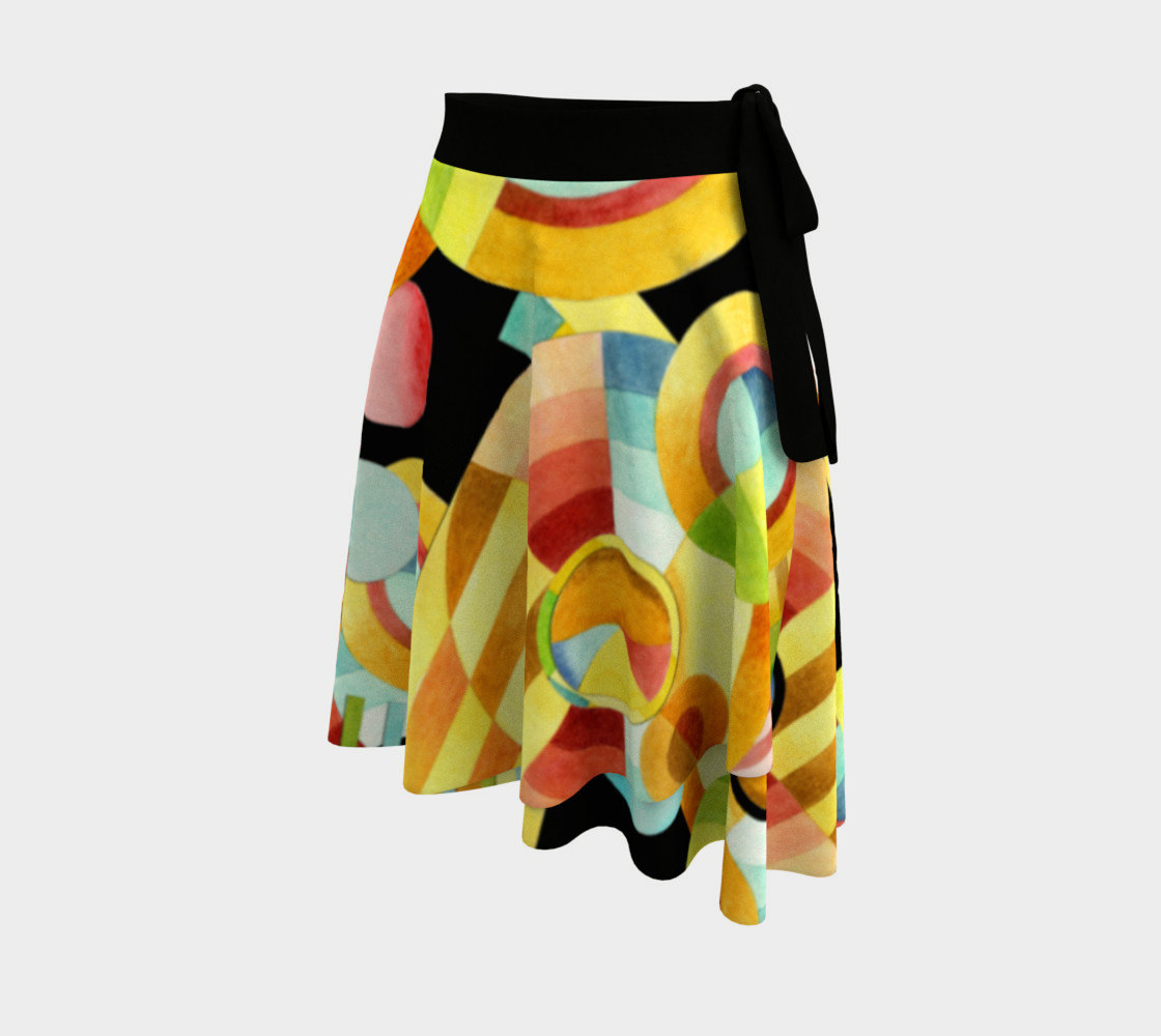 Aperçu de Art Deco Maximalist Circle Skirt #2