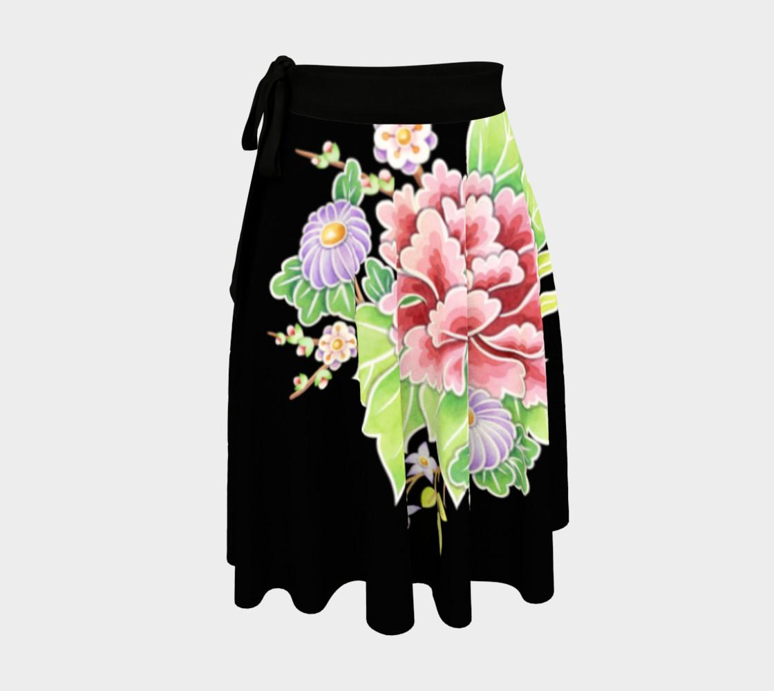Kimono Bouquet Circle Skirt preview #1