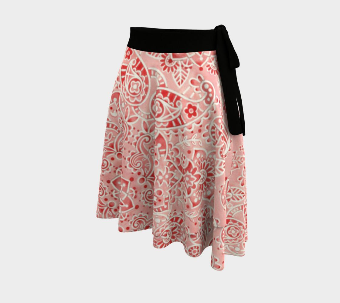 Pink Paisley Circle Skirt preview #2