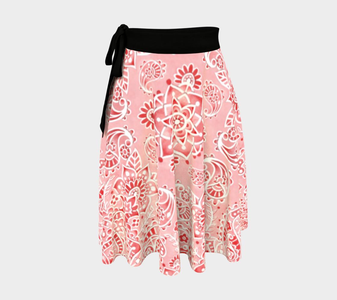Pink Paisley Circle Skirt preview #1