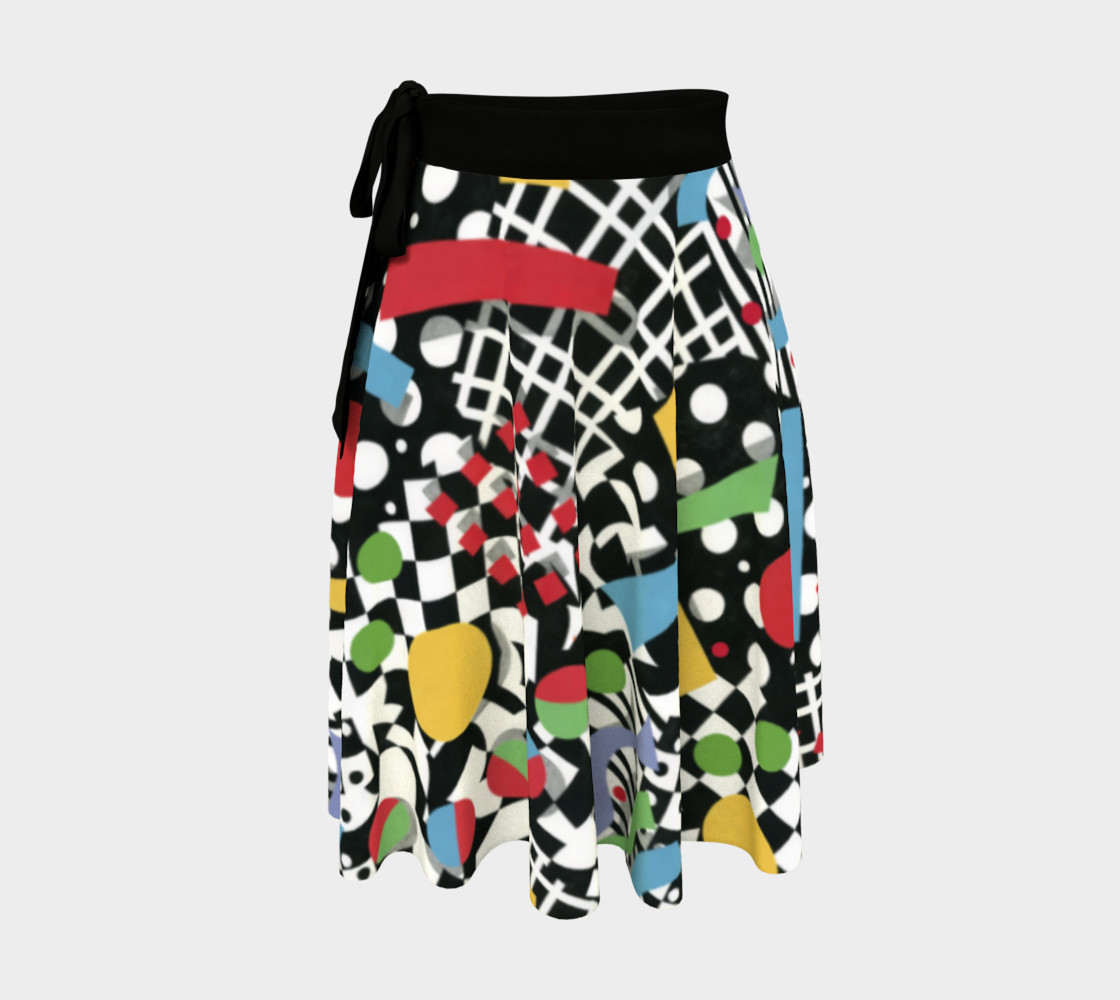 Ticker Tape Circle Skirt preview #1