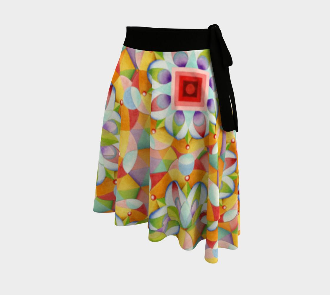 Big Top Mandala Circle Skirt preview #2