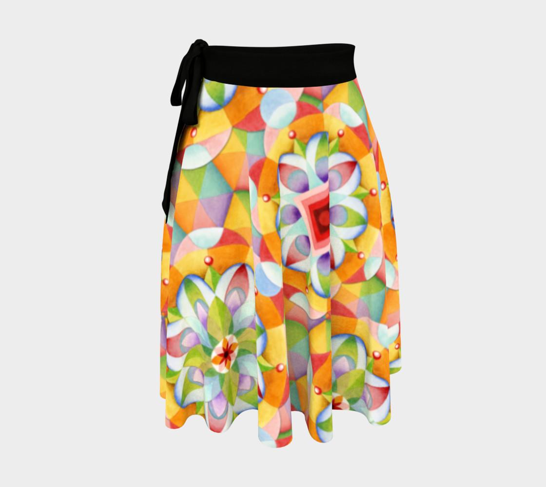 Big Top Mandala Circle Skirt preview #1