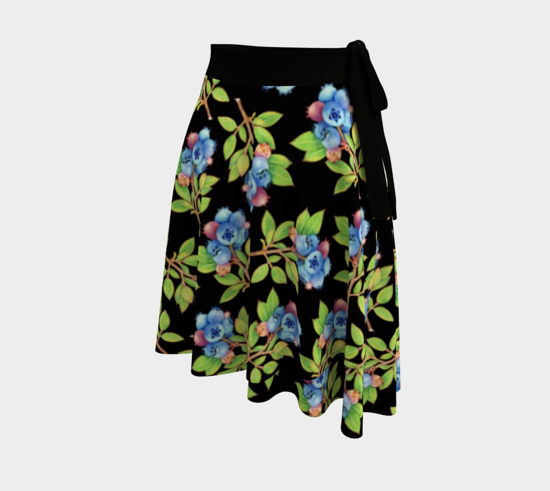 Aperçu de Blueberry Sprigs Circle Skirt #2