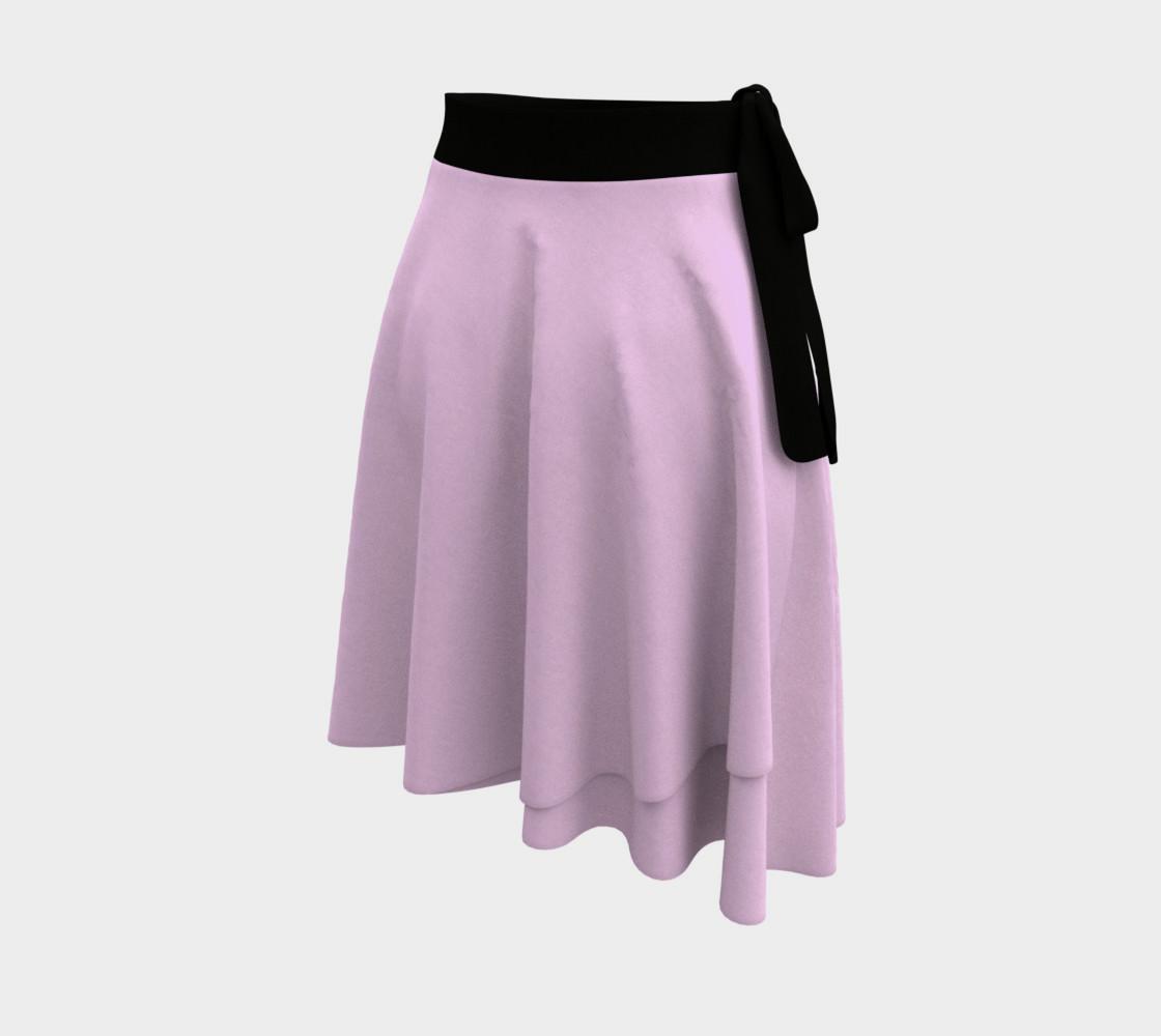 Mauve Color Wrap Skirt, AOWSGD preview #2