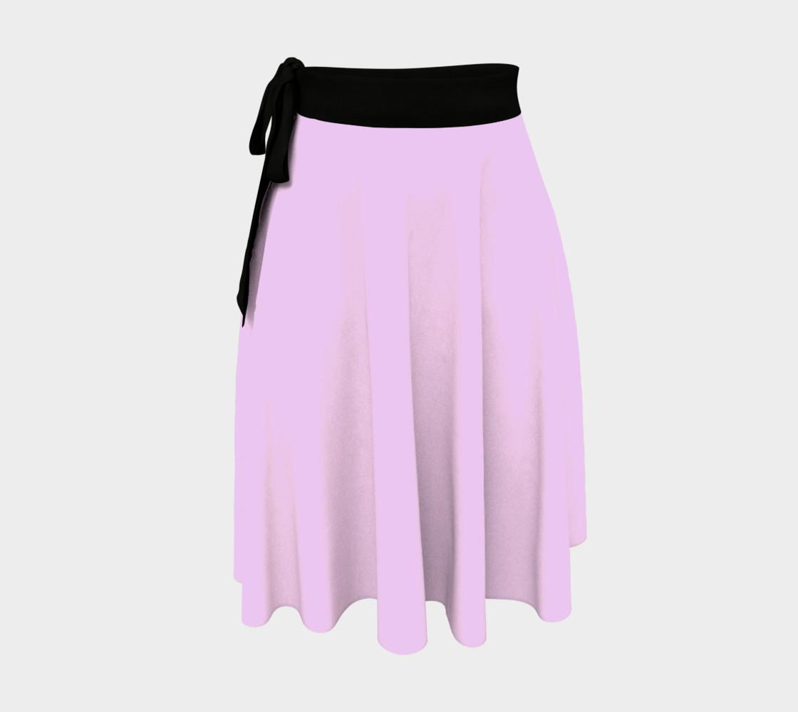 Mauve Color Wrap Skirt, AOWSGD preview #1