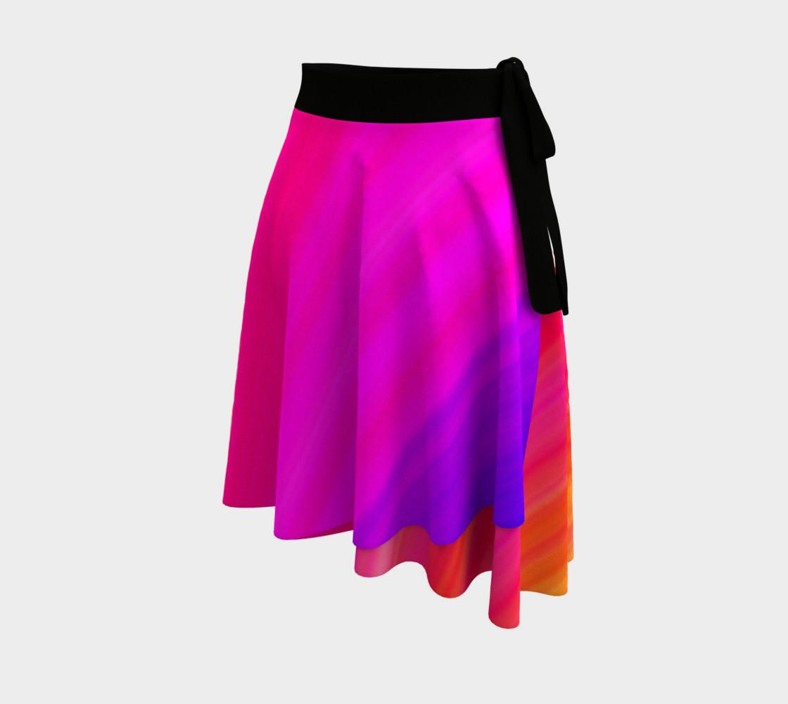Aperçu de Raise Your Vibe Wrap Skirt #2