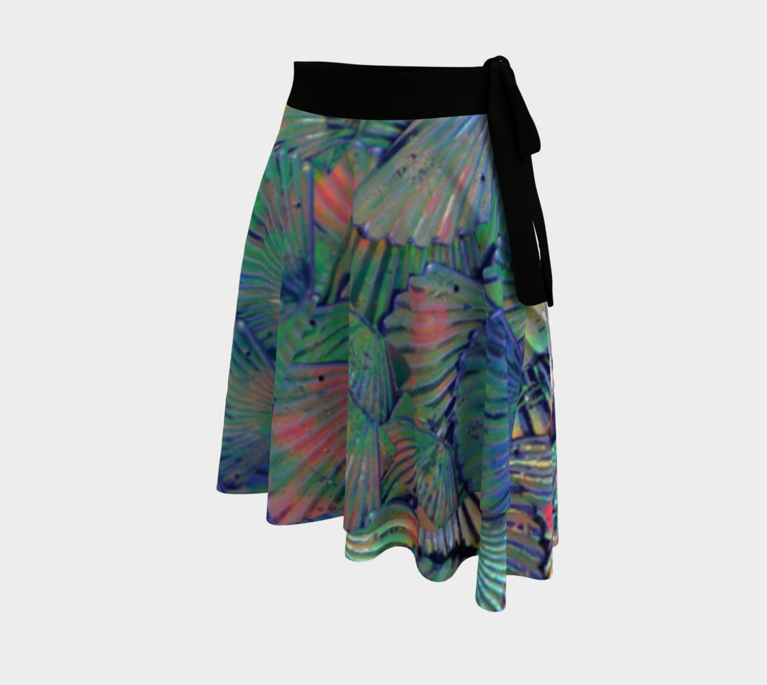 Opal Large-Scale Mermaid Wrap Skirt preview #2