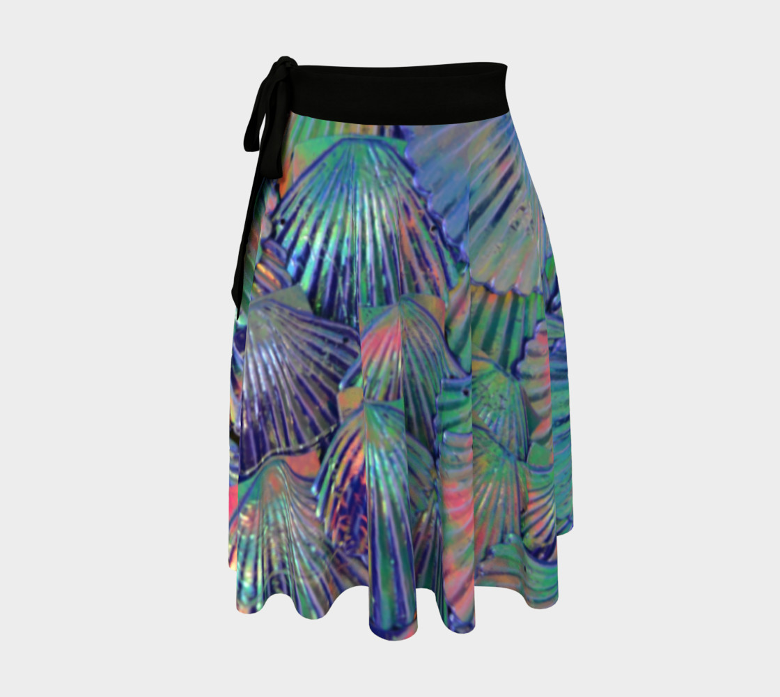 Opal Large-Scale Mermaid Wrap Skirt preview #1