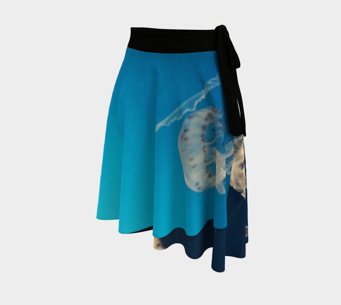 Jellyfish Wrap Skirt preview #2