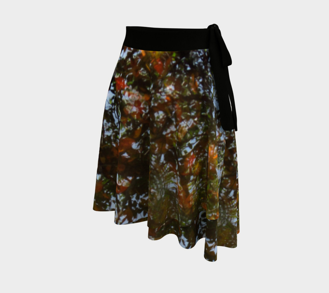 Ripple and Leaf Wrap Skirt preview #2