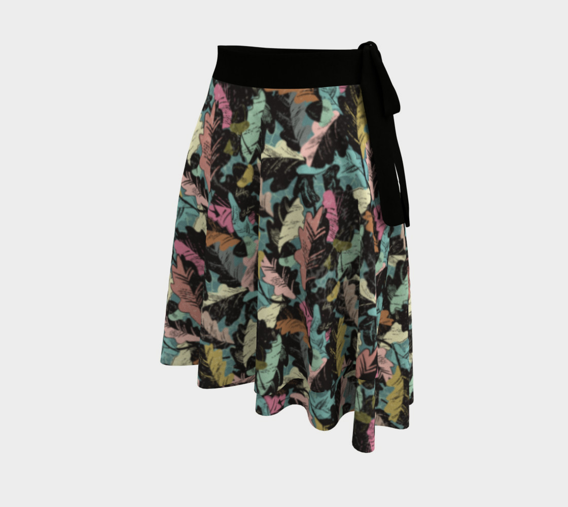 wrap skirt - autumn leaves preview #2