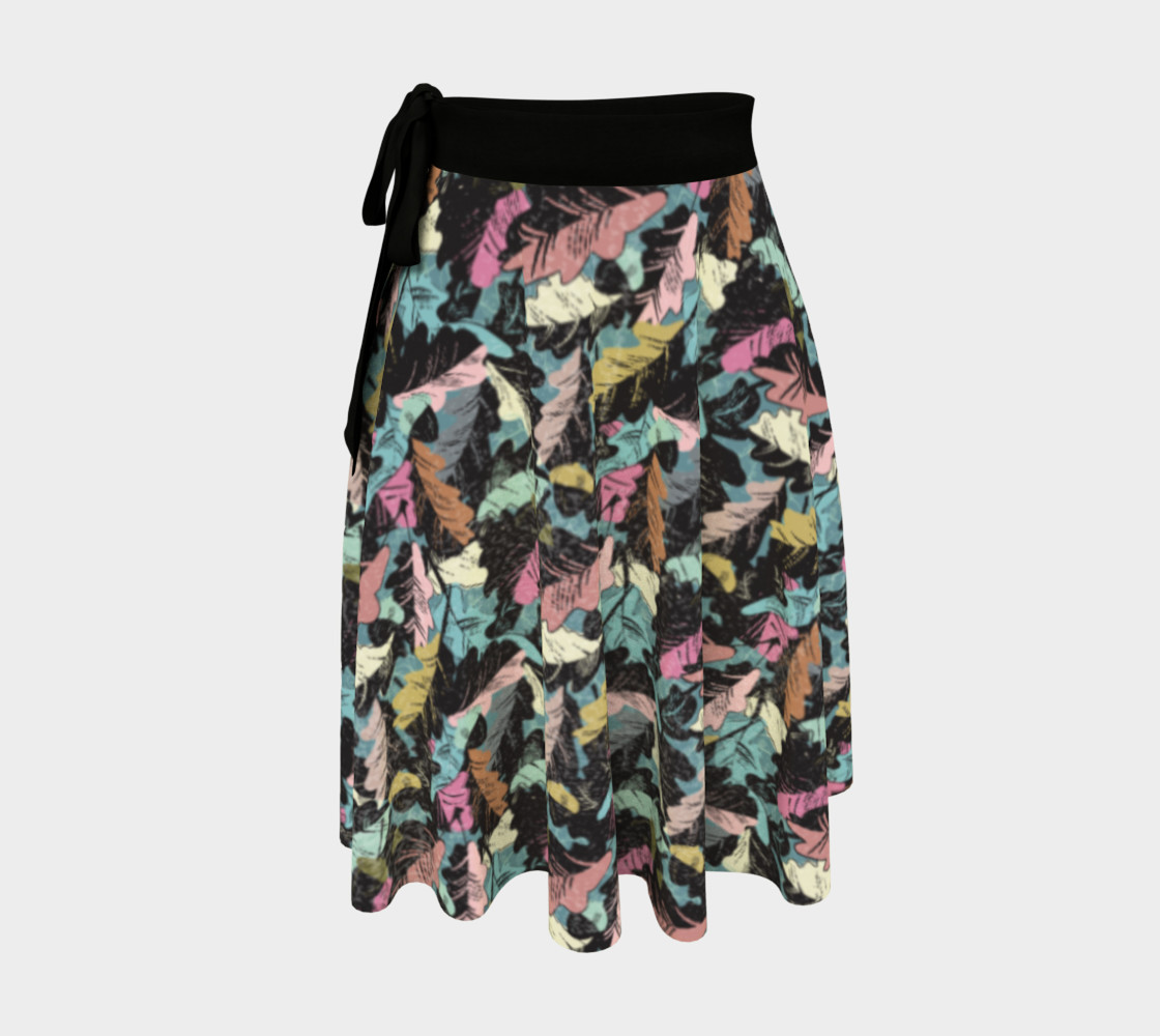 wrap skirt - autumn leaves preview #1