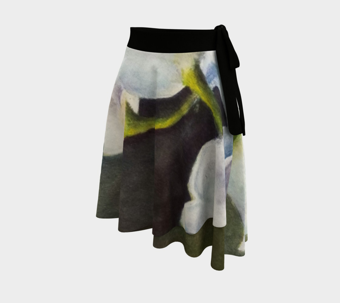 Lily of the Valley Lady Bug Wrap Skirt preview #2