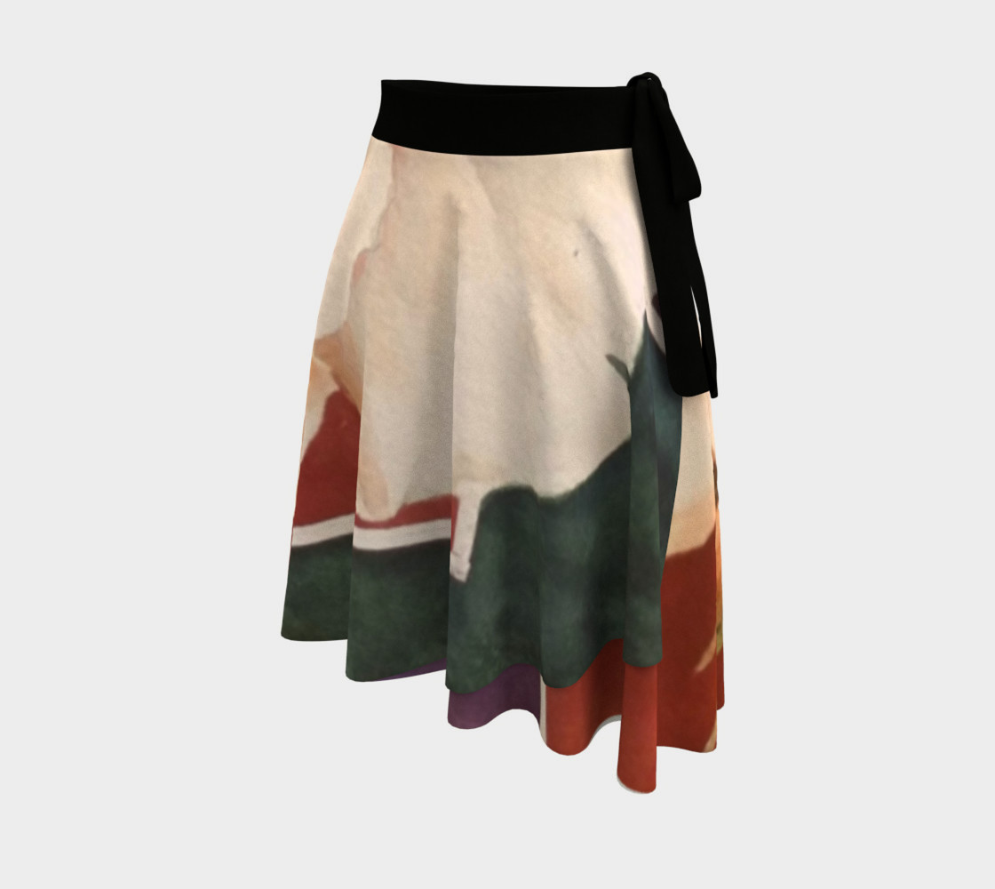 Antique Rose Wrap Skirt preview #2