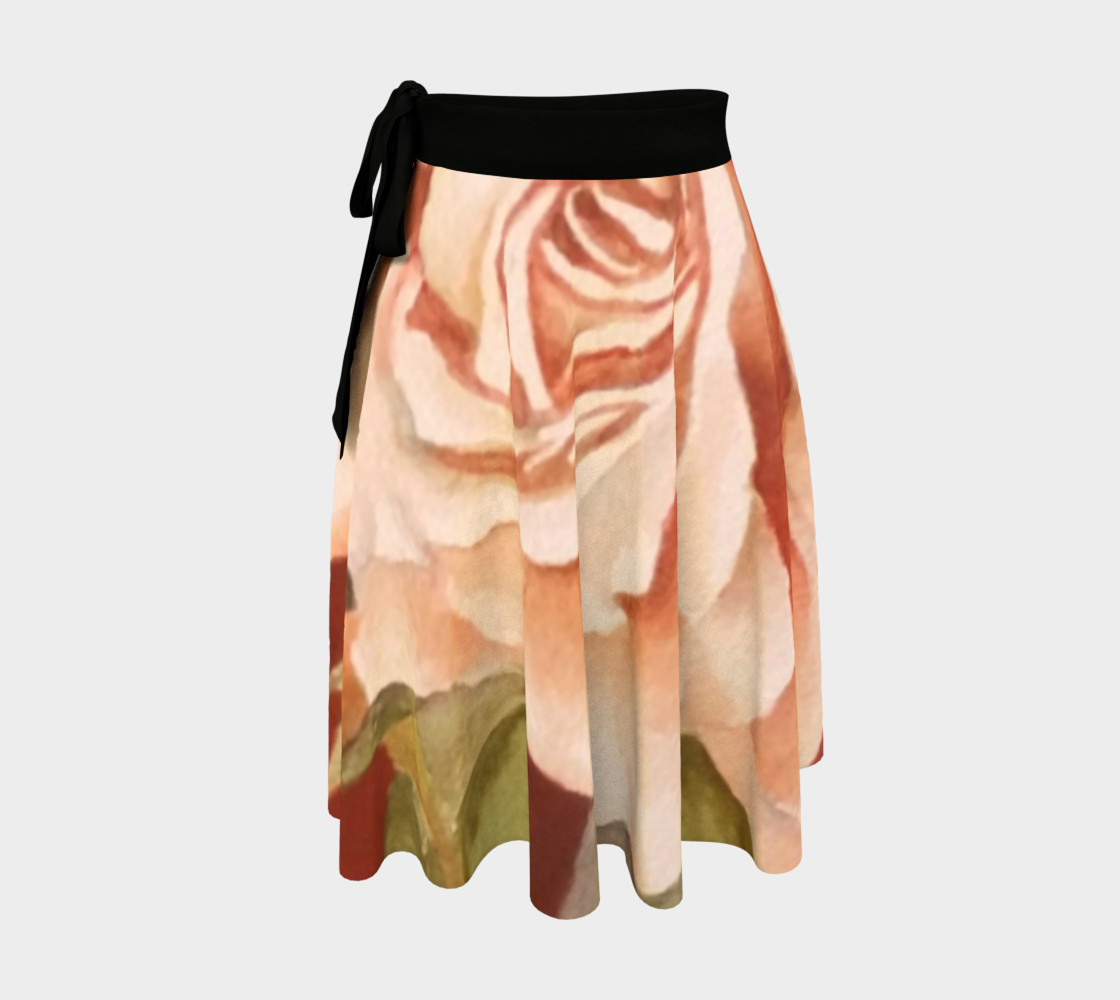 Antique Rose Wrap Skirt preview #1