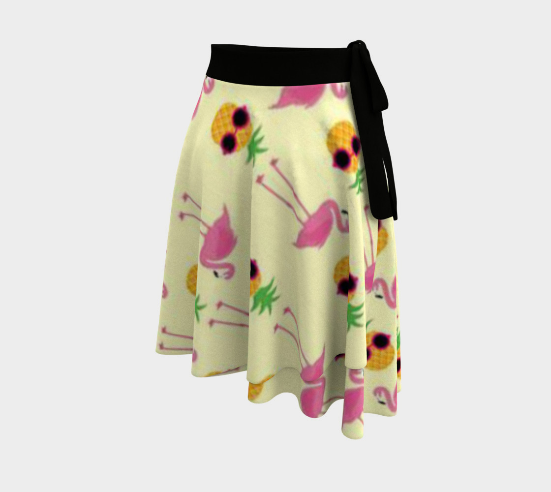 stylish pineapple flamingos preview #2