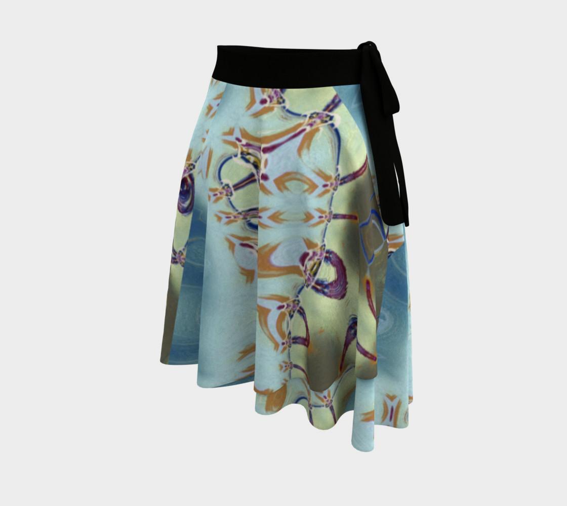 Aperçu de Glitter Queen Party Wrap Skirt #2