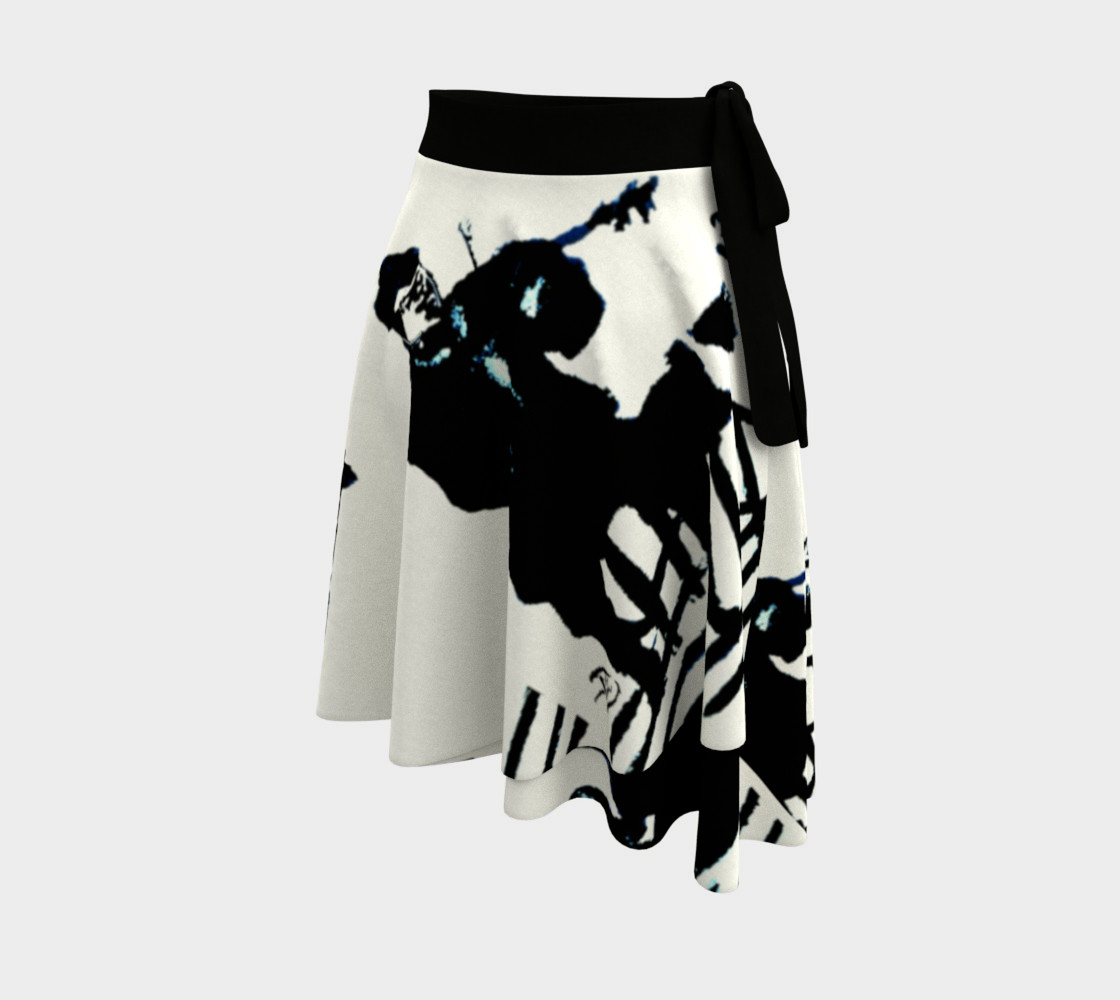 Chamber Jazz Wrap Skirt Miniature #3