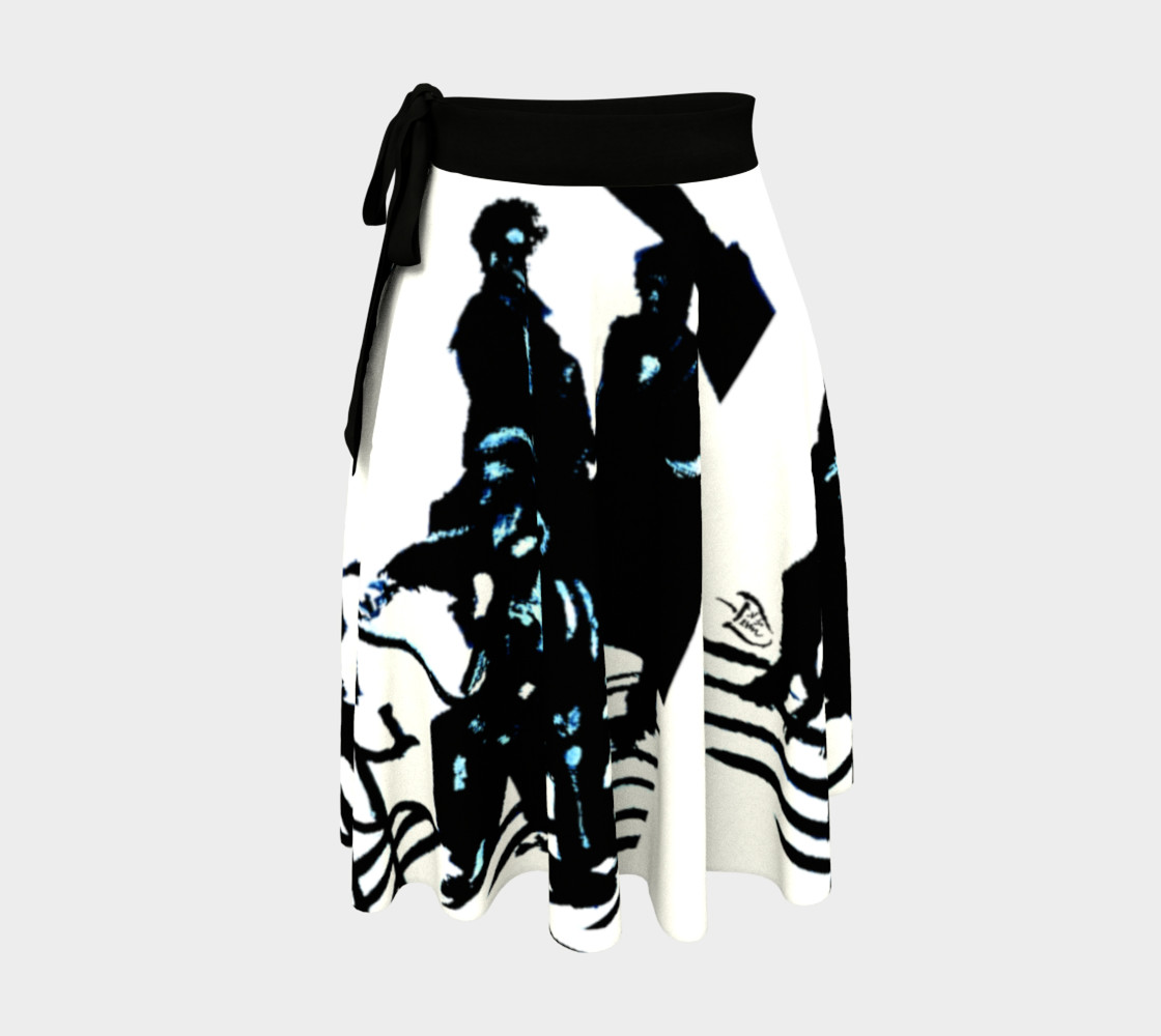 Chamber Jazz Wrap Skirt Miniature #2
