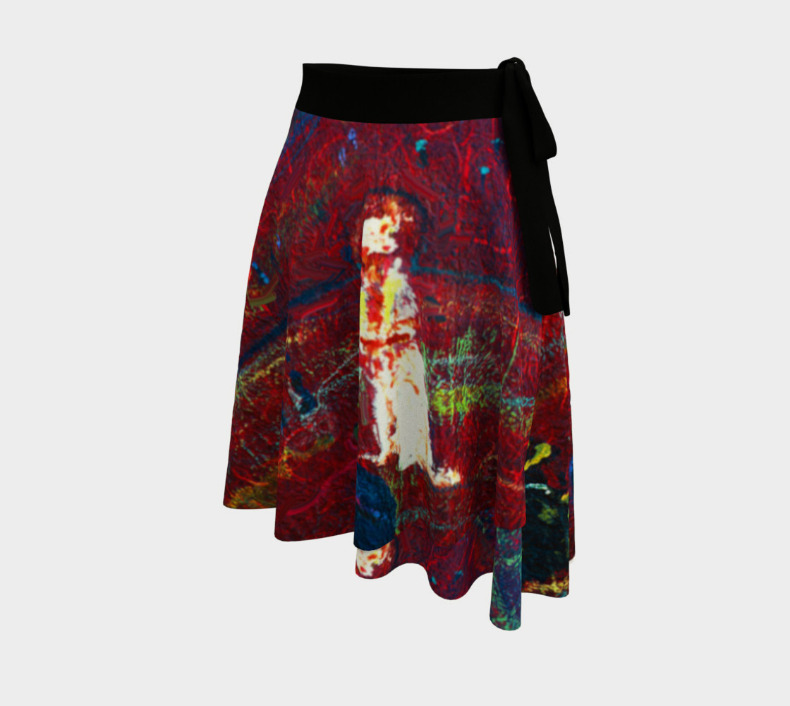 Aperçu de Foxfire Hill Wrap Skirt (w/deluxe fashion-surface detail.) #2