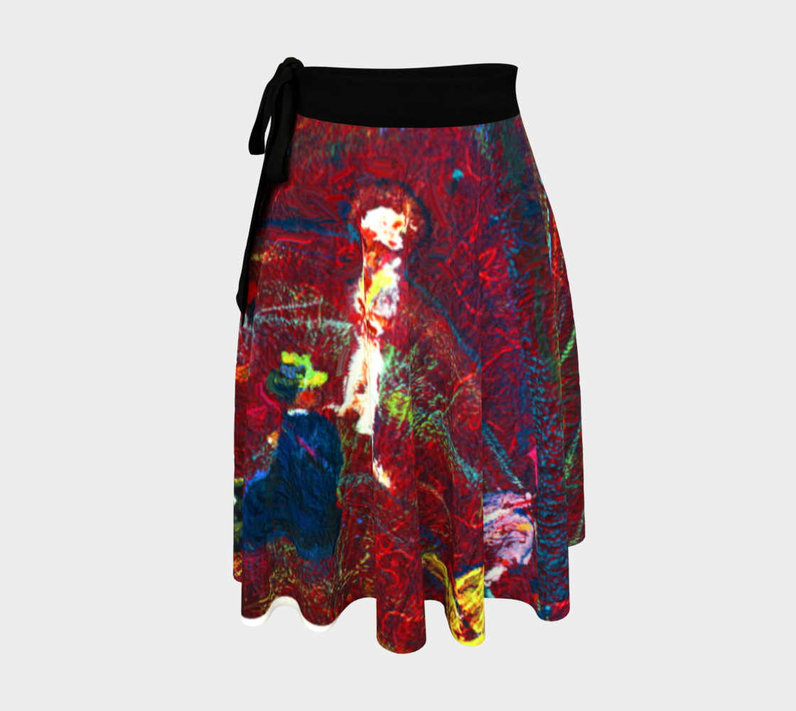 Aperçu de Foxfire Hill Wrap Skirt (w/deluxe fashion-surface detail.) #1