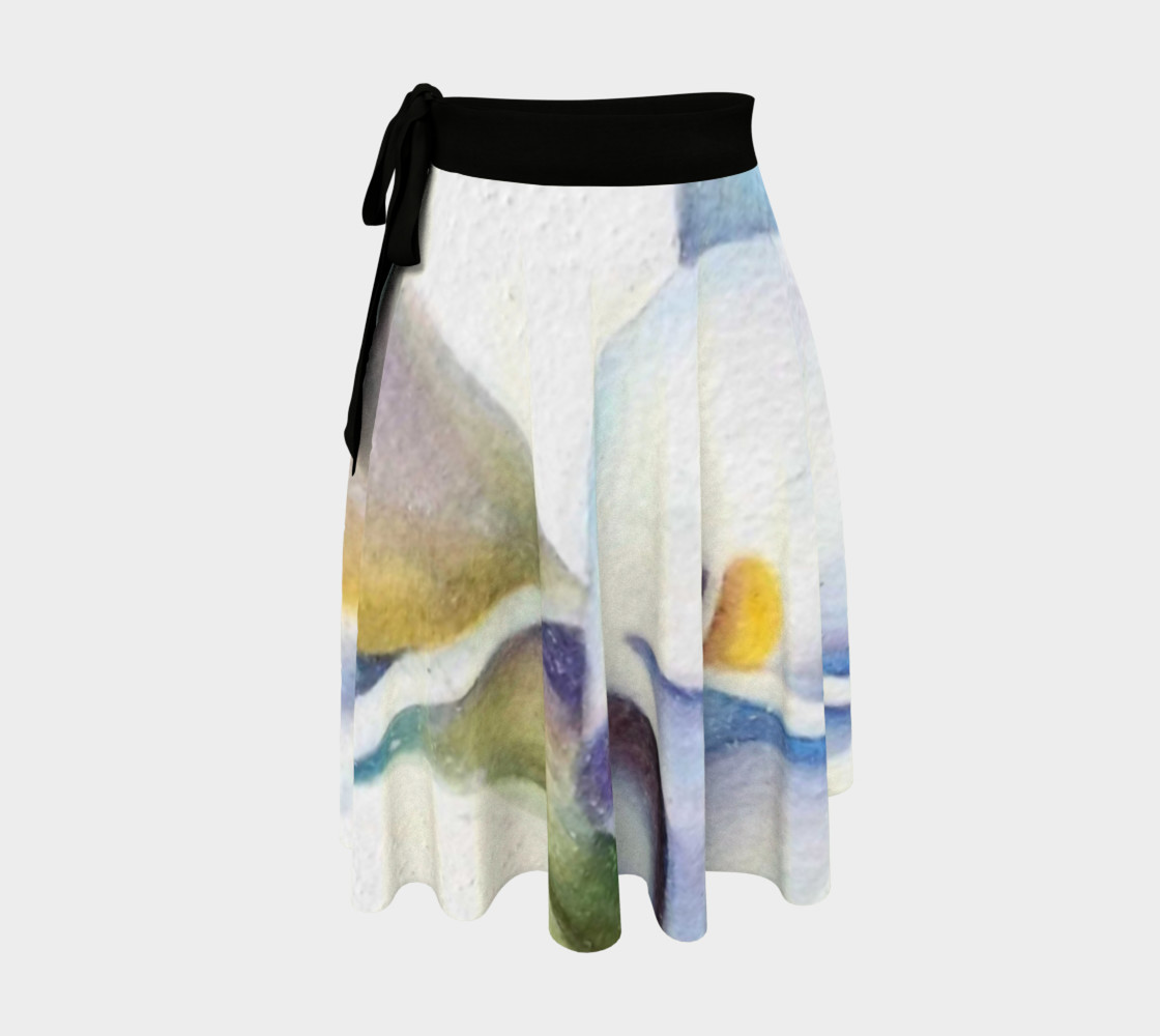 Calla Lily Wrap Skirt preview #1