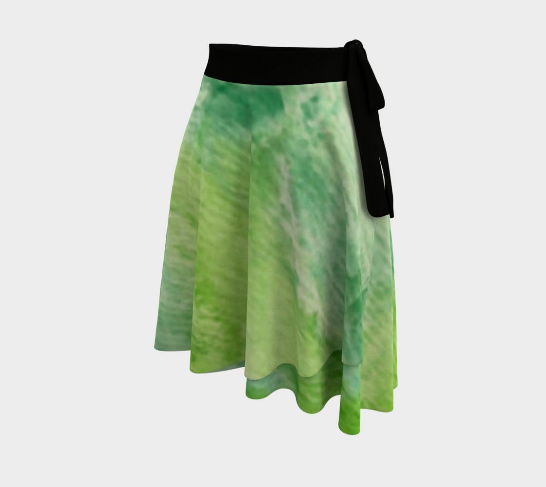 Fleur Verte Wrap Skirt preview #2