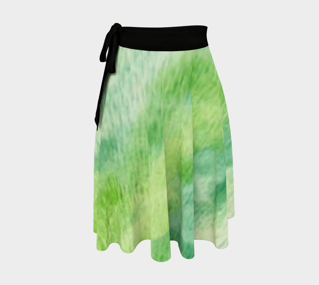 Fleur Verte Wrap Skirt preview #1