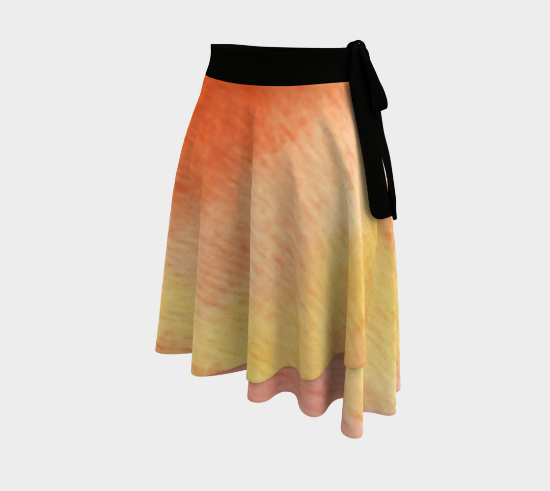 Poppy Paradise Wrap Skirt preview #2