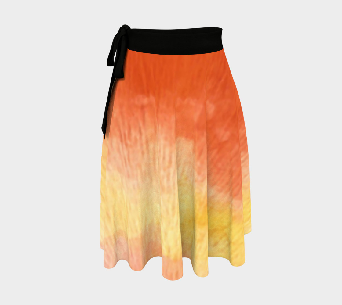 Poppy Paradise Wrap Skirt preview #1