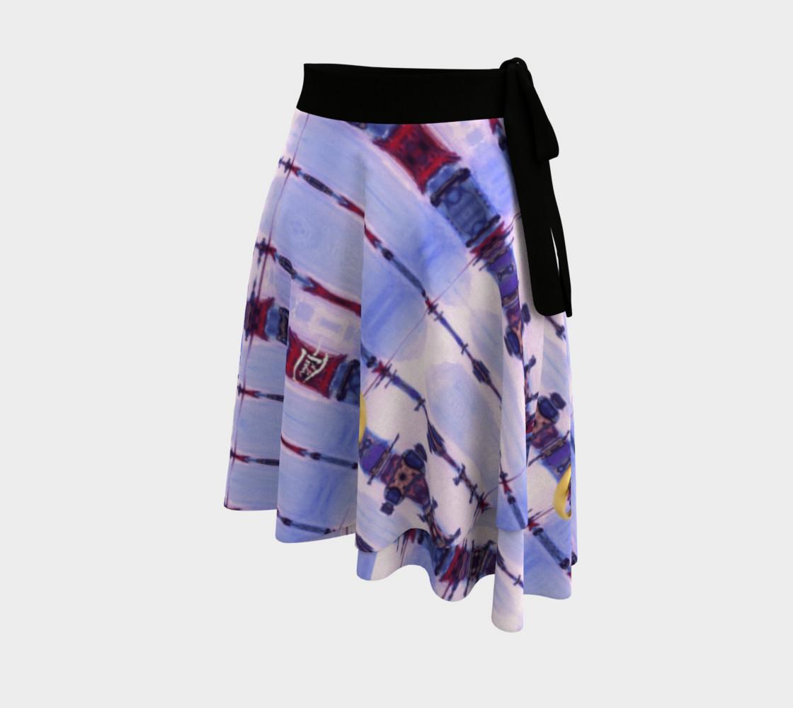 Aperçu de Gypsy Romance Elopement Wrap Skirt #2
