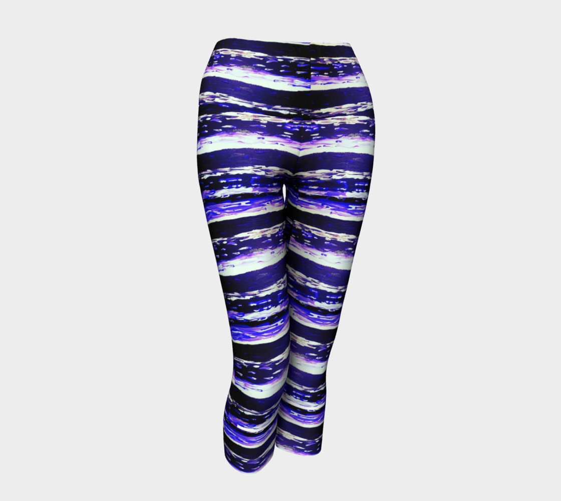 'Changing Currents' Yoga Capris preview #1