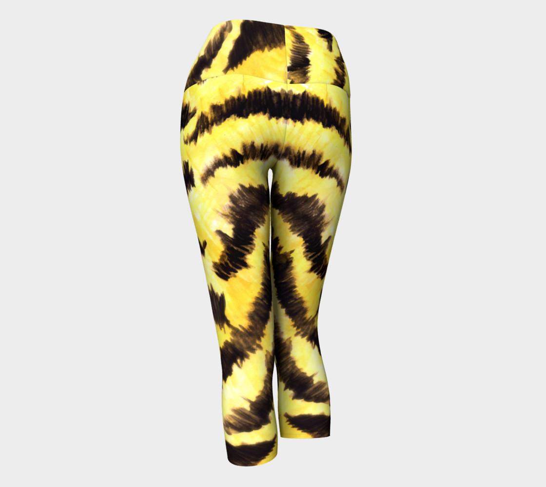 Yellow tiger fur preview #3