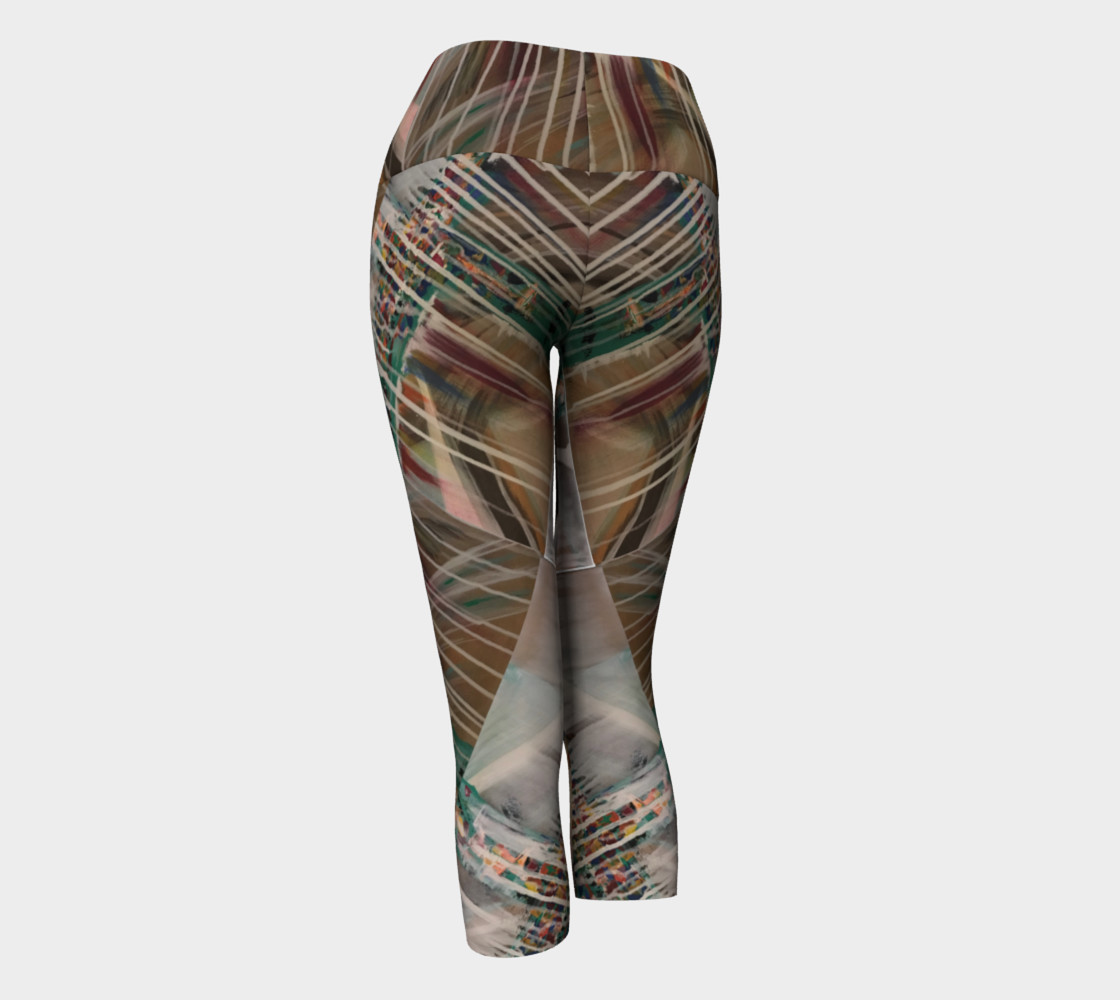 Drip Lines Leggings preview #3