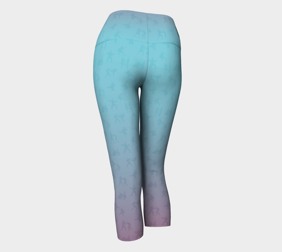 Unity - Candy Colored - Yoga Capris Miniature #4