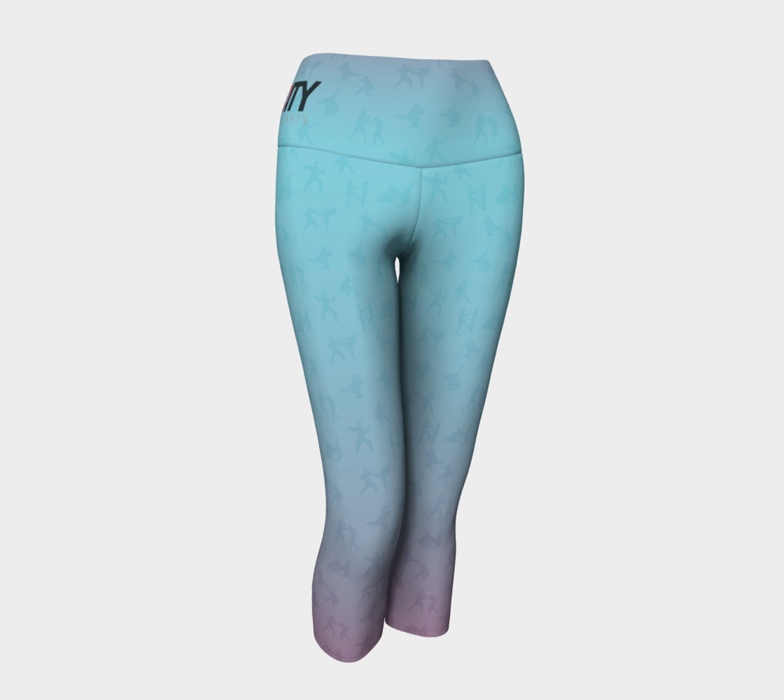 Unity - Candy Colored - Yoga Capris Miniature #2