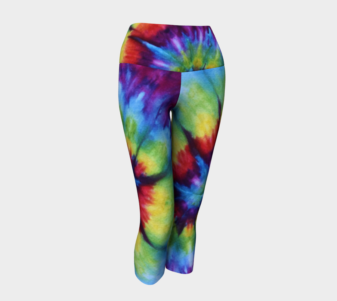 Rainbow Yoga Capri preview #1