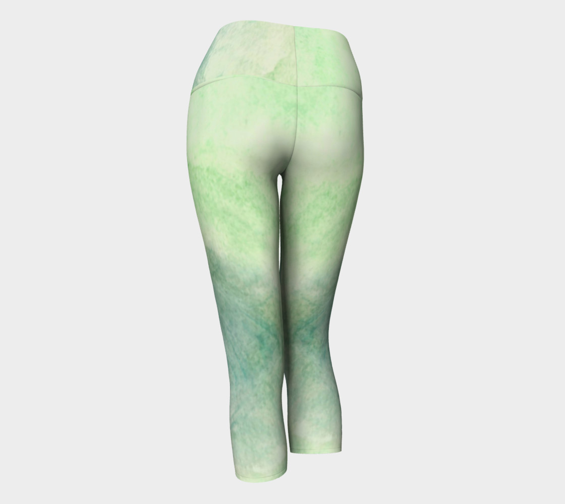 Green Dimension Flower Yoga Capris preview #3