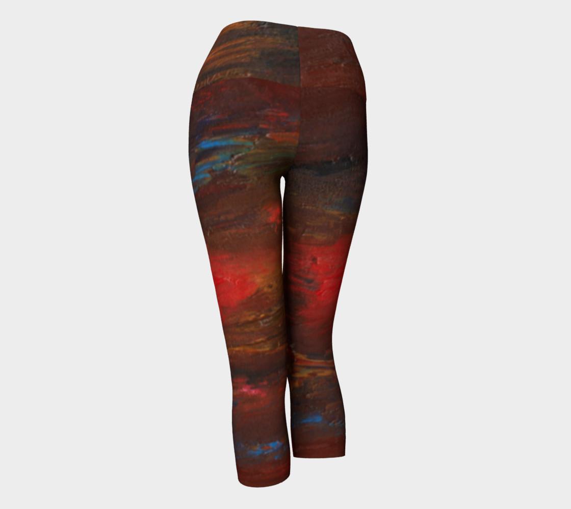 Crimson Ocean Yoga Capris preview #3