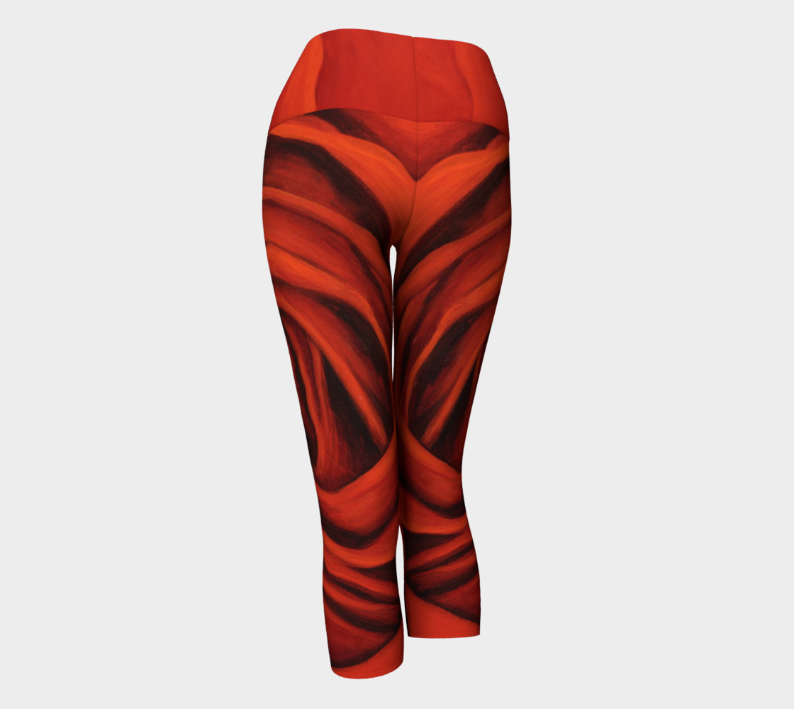Seeing Red II-Yoga Capris preview #3