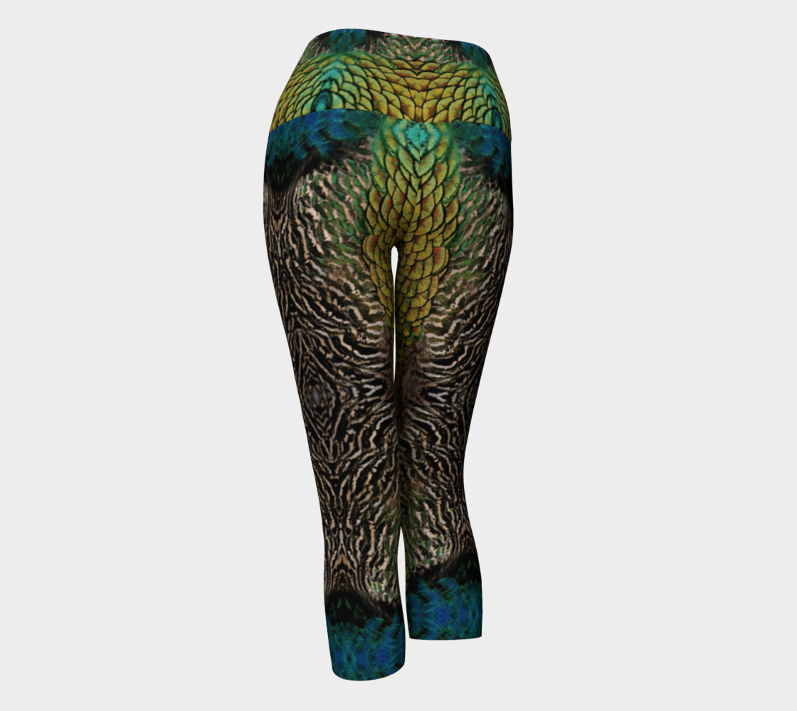 Peacock Feather Capris preview #3