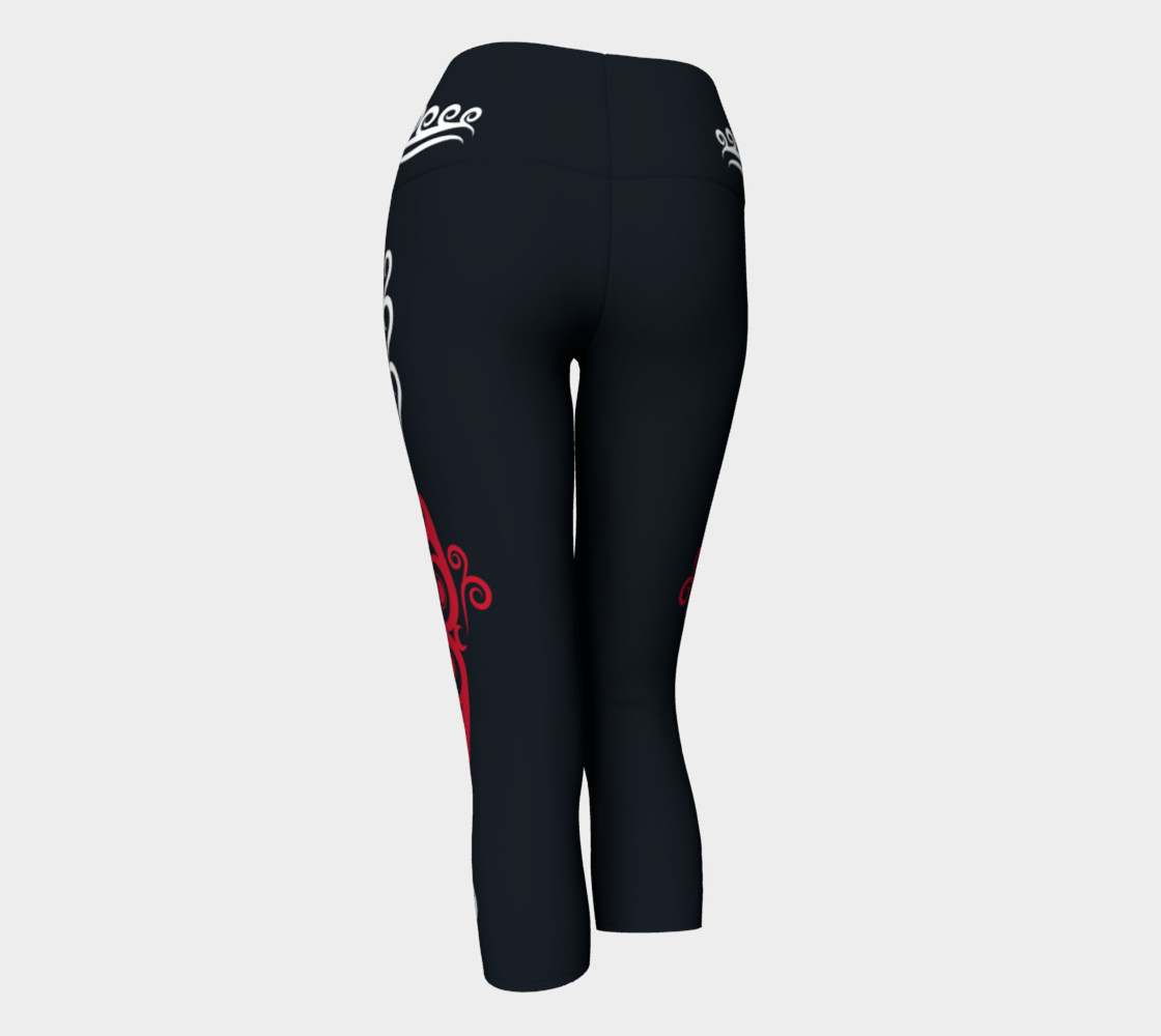 Red Whale White Waves Capris preview #3