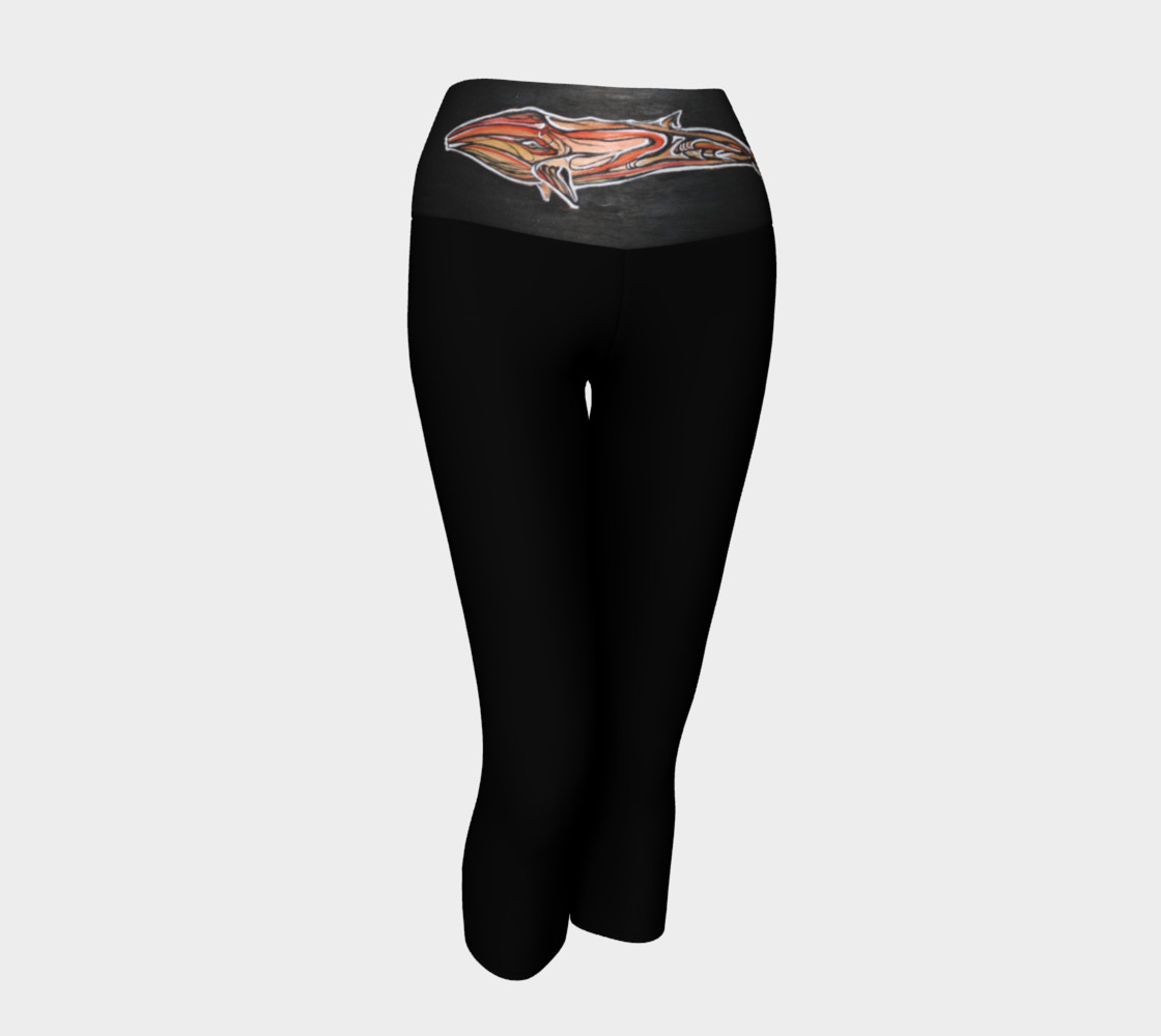 WhaleBelly Yoga Capri Miniature #2