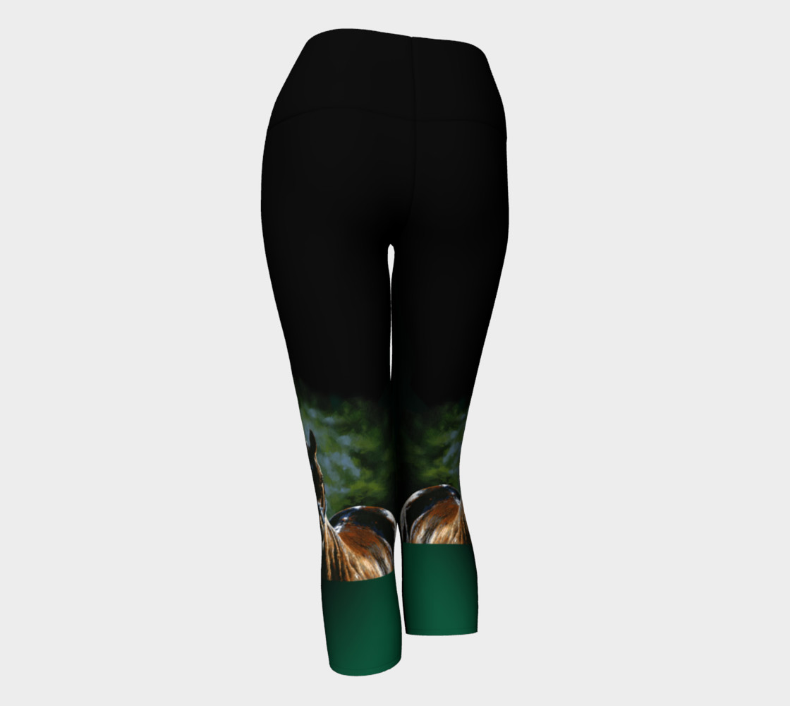 Kaleidoscope Yoga Capris preview #3