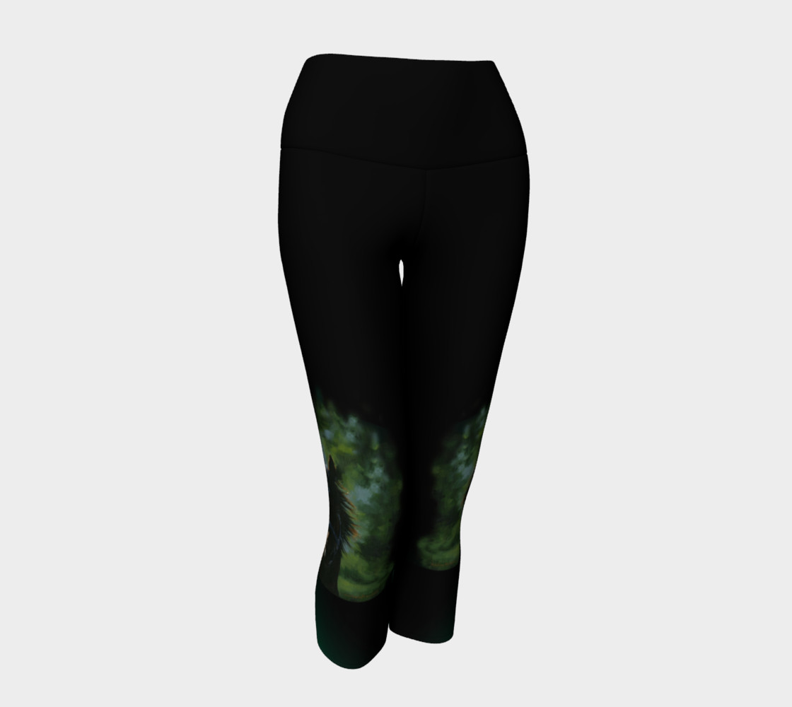 Kaleidoscope Yoga Capris preview #1