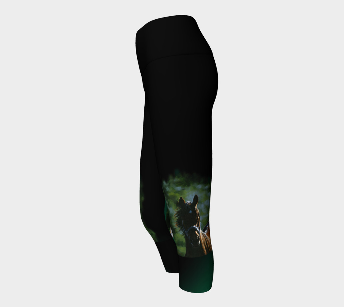 Kaleidoscope Yoga Capris preview #2