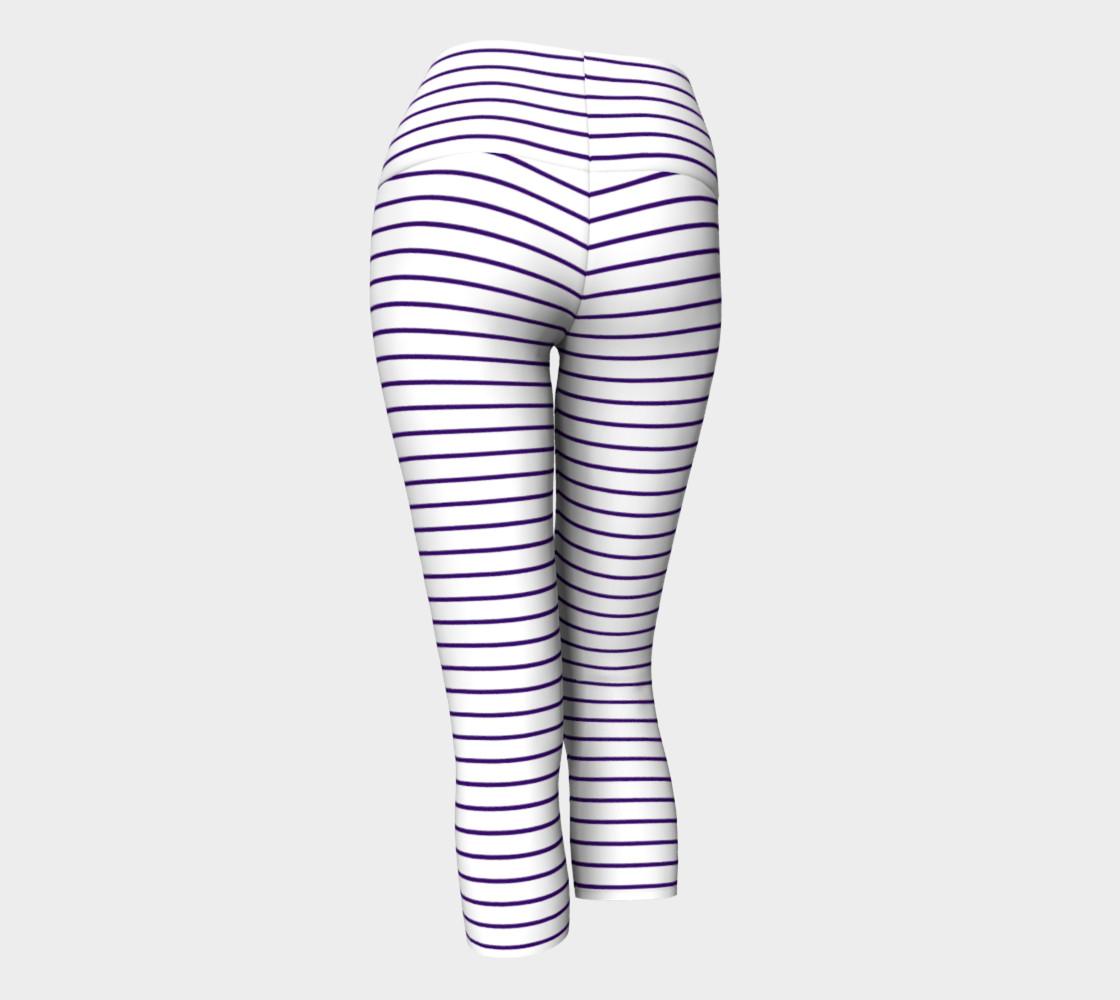 Lunatic Stripes White with Royal Purple Stripe preview #3