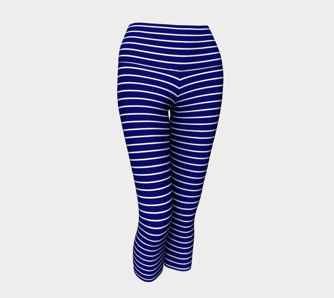 Lunatic Stripes Navy with White Stripe preview #1